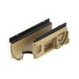 Swissdrain SD 100 mit Lippenlabyrinthdichtung für senkrechten Anschluss DN 100 und seitlichen Vorformungen