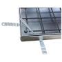 UNIFACE Schachtabdeckung Rahmen und Deckelwanne aus Stahl feuerverzinkt